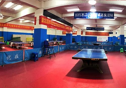 渝北乒乓球训练基地