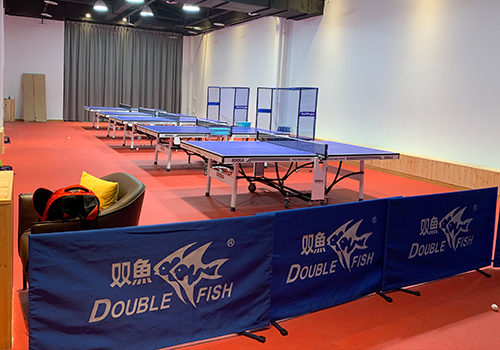 青少年乒乓球训练场地